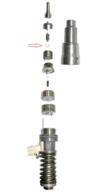 DX08092CRX  НАБОР РЕГ. ШАЙБ 9,3x4,7х0,4-0,8 мм  (шаг 0,02) 210 шт  ПОД ПРУЖИНУ РАСПЫЛ. 4-PIN DELPHI