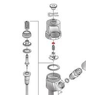 AZ0019-15CRX  НАБОР РЕГ. ШАЙБ 2,5 x 5,3 x 1,2-1,7mm   (шаг 0,02) 260шт